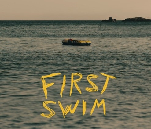 poster for first swim film